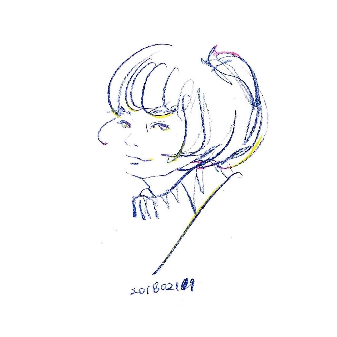 #illust #illustration #croquis #doodle #drawing #kawaii #cool #fashion #ennui #アンニュイ #イラスト #ファッション #クロッキー #ドローイング
