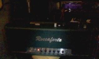 新譜ナイトブレードで使用のギターアンプ 「ロッカフォルテ(ROCCAFORTE CUSTOM80 Friedman Brown Eye C45 MOD)」・・・