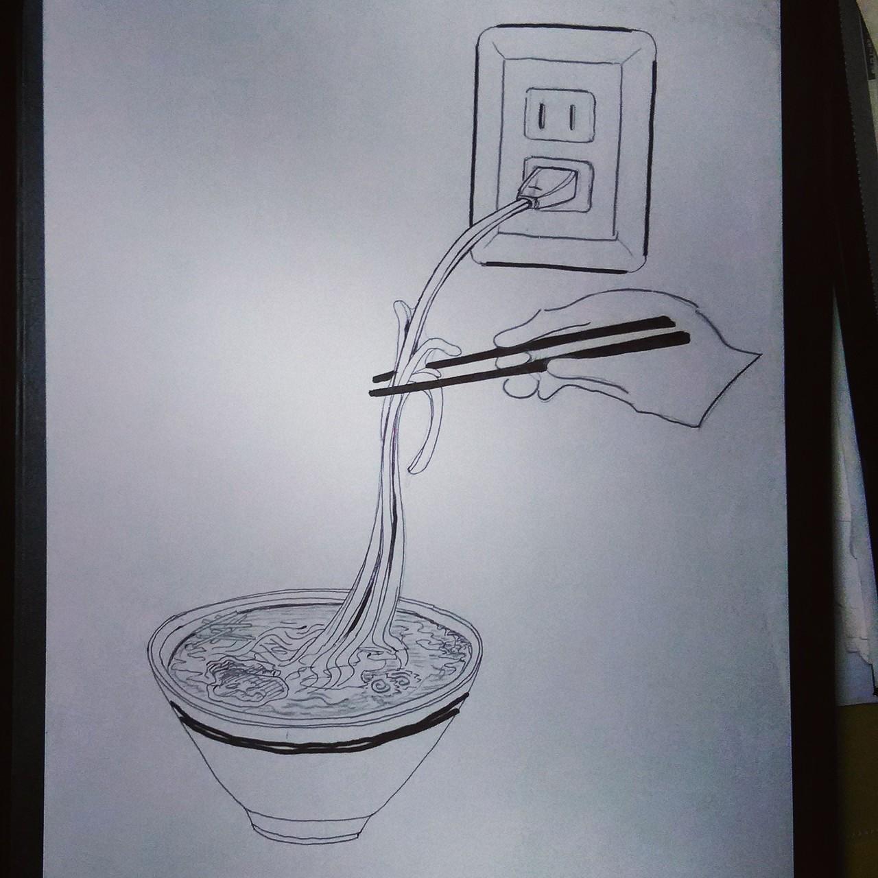Cable Ramen / 電気ラーメン