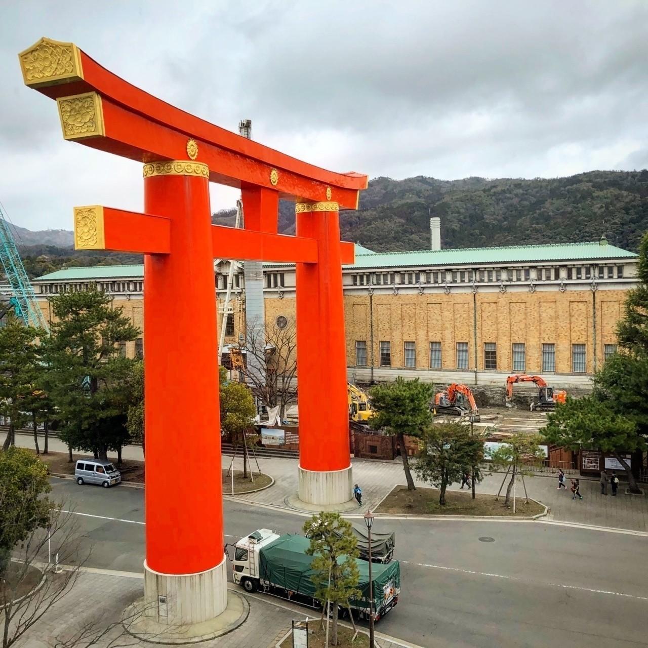 京都国立美術館からの眺め