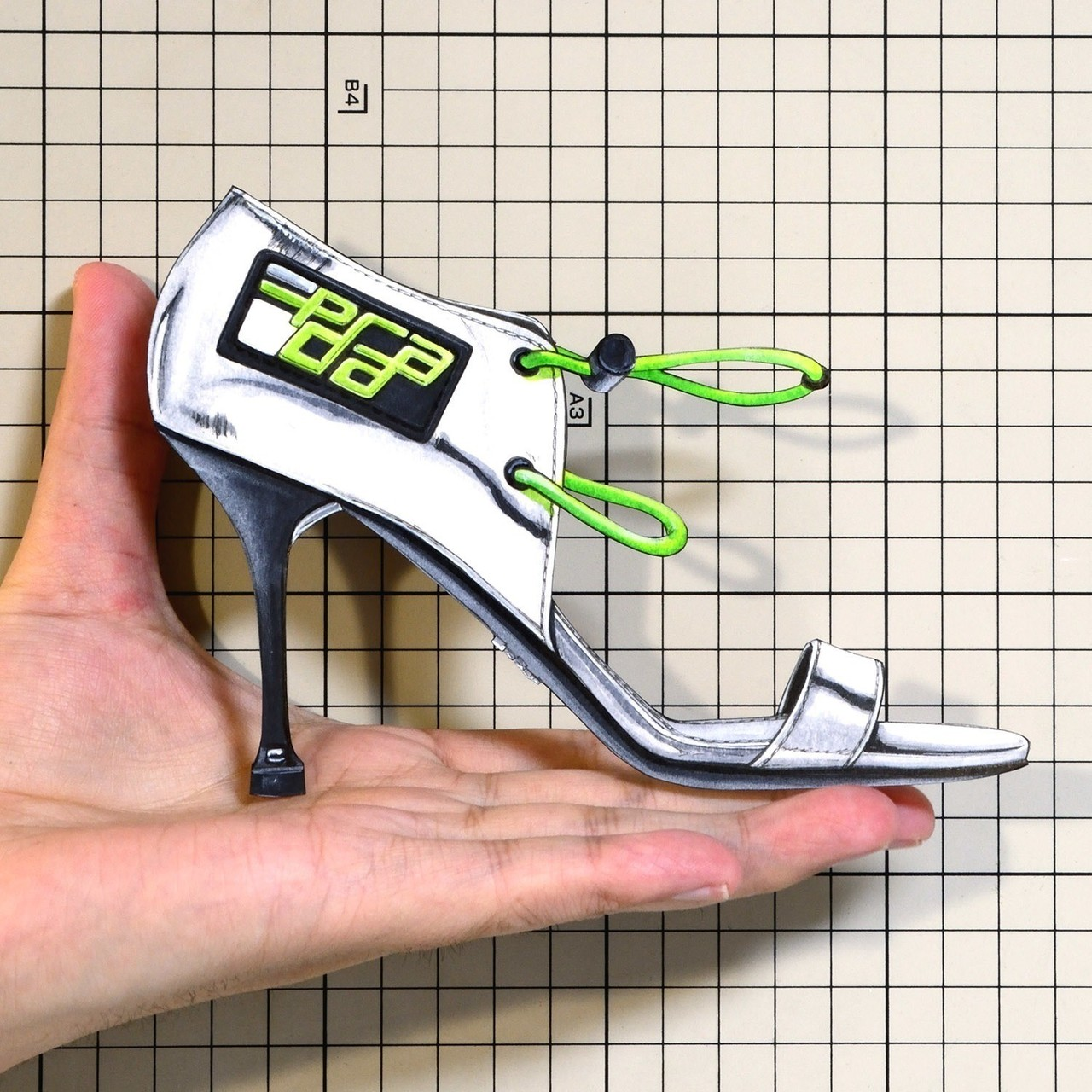 "Shoes:00948 ""PRADA"" Drawstring Sandal(FW2018)"