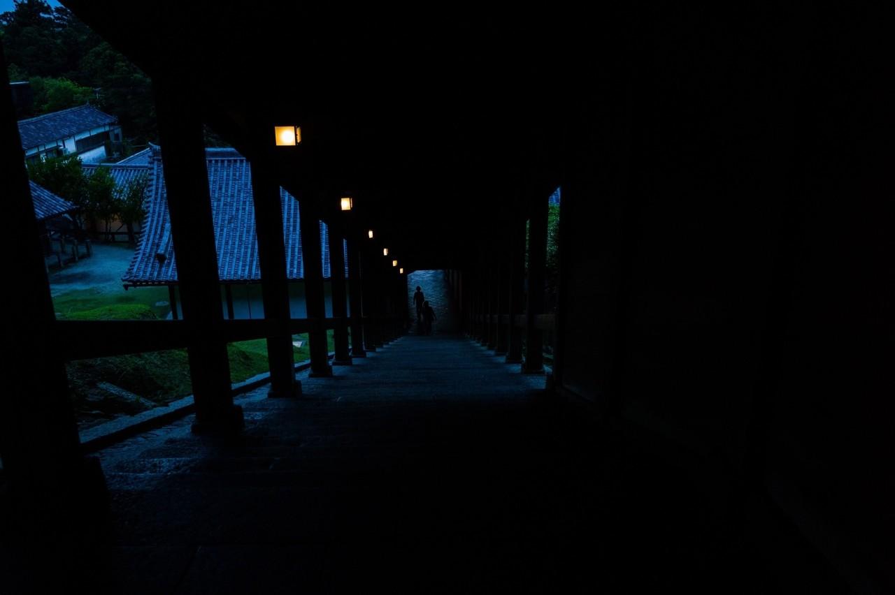 夕方の二月堂
