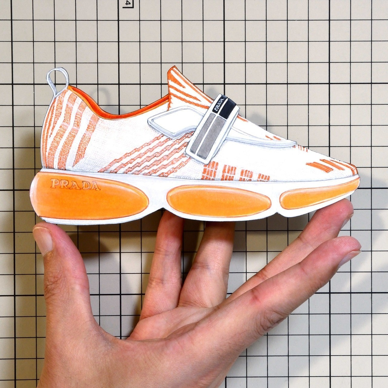 "Shoes:00950   ""PRADA"" Allacciate Sneaker(FW2018)"