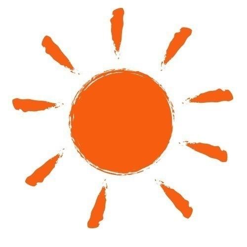 手書き風太陽イラスト素材ニモnote