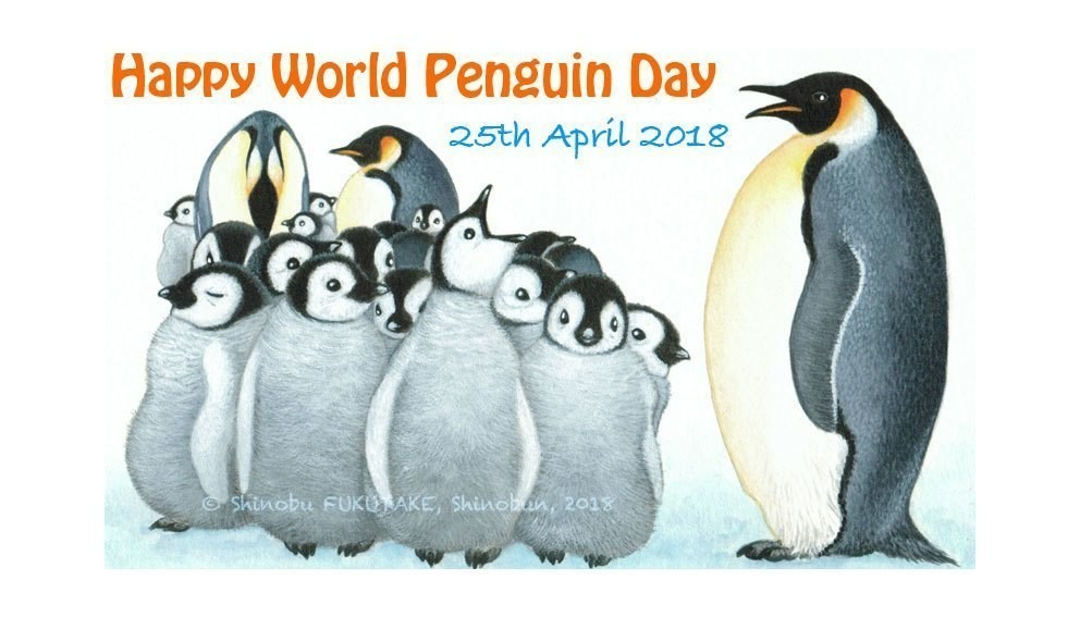 Happy World Penguin Day 25th April 2018