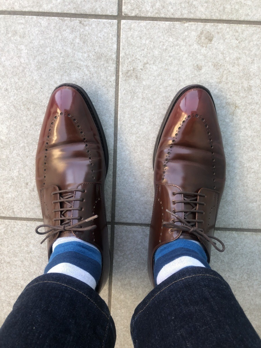 シワ 取り 革靴