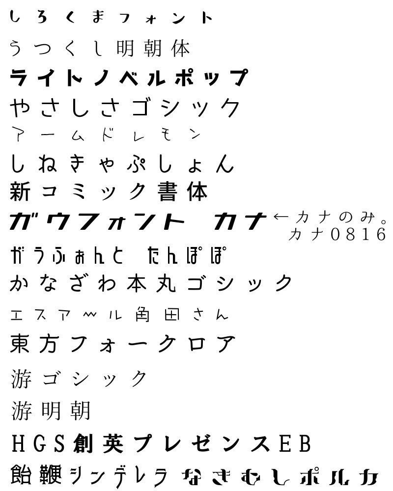 好きなフォント|sudou mizuha|note