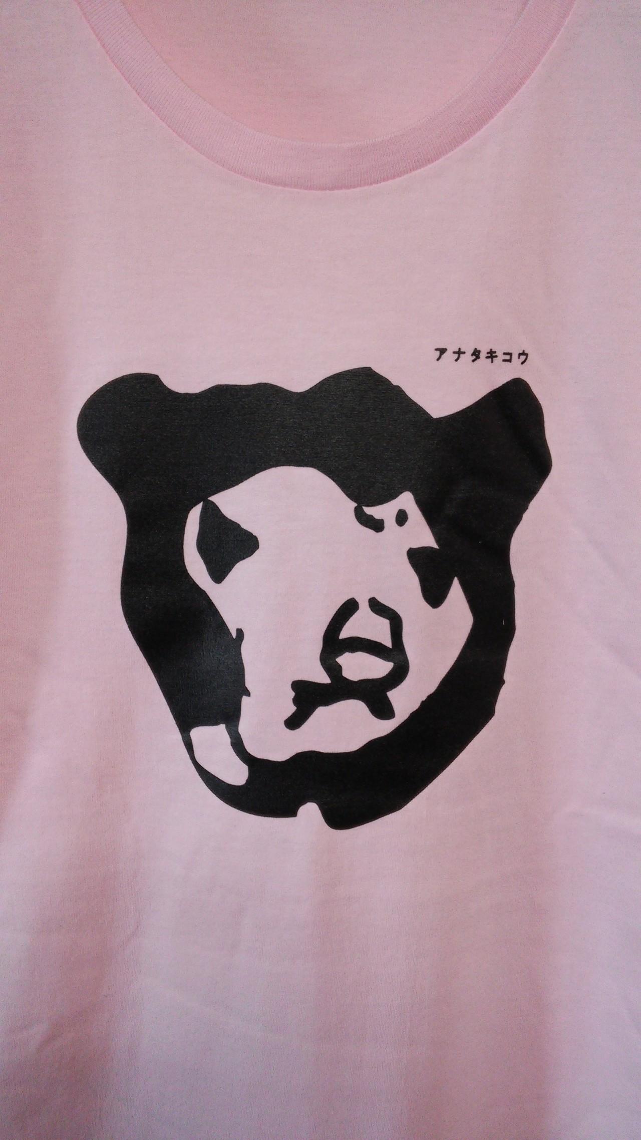 マレーちゃんTシャツのピンク。