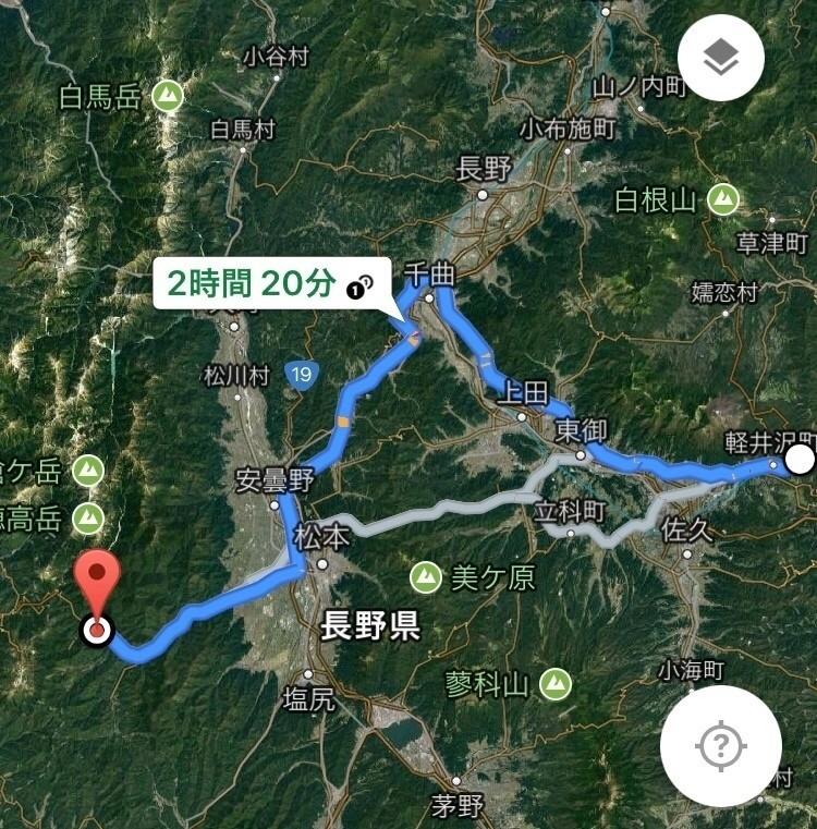 番外編 軽井沢から上高地へ① ra...