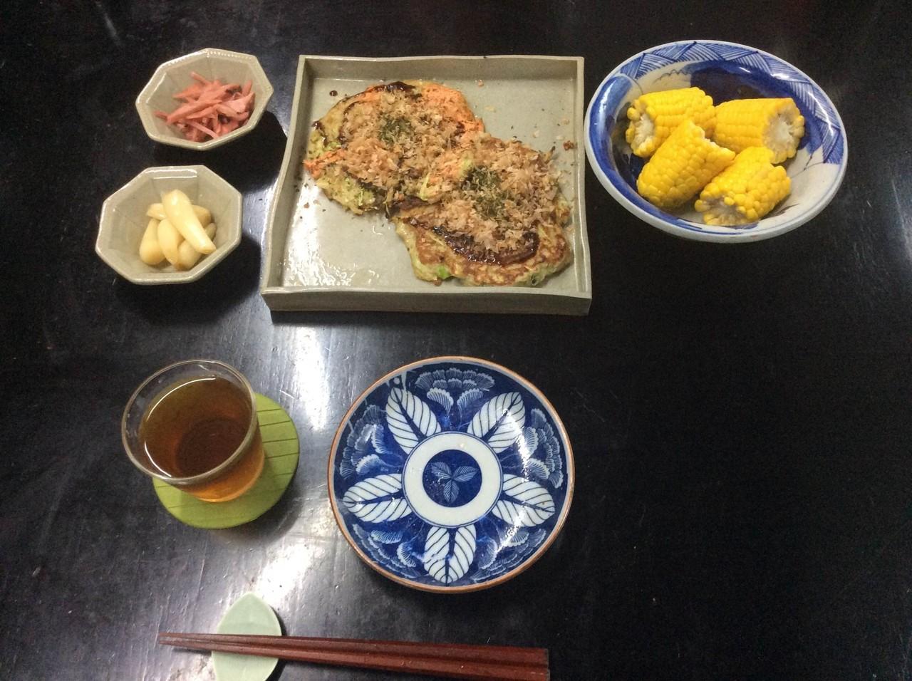 我が家の食卓 20140810 昼飯|橘...