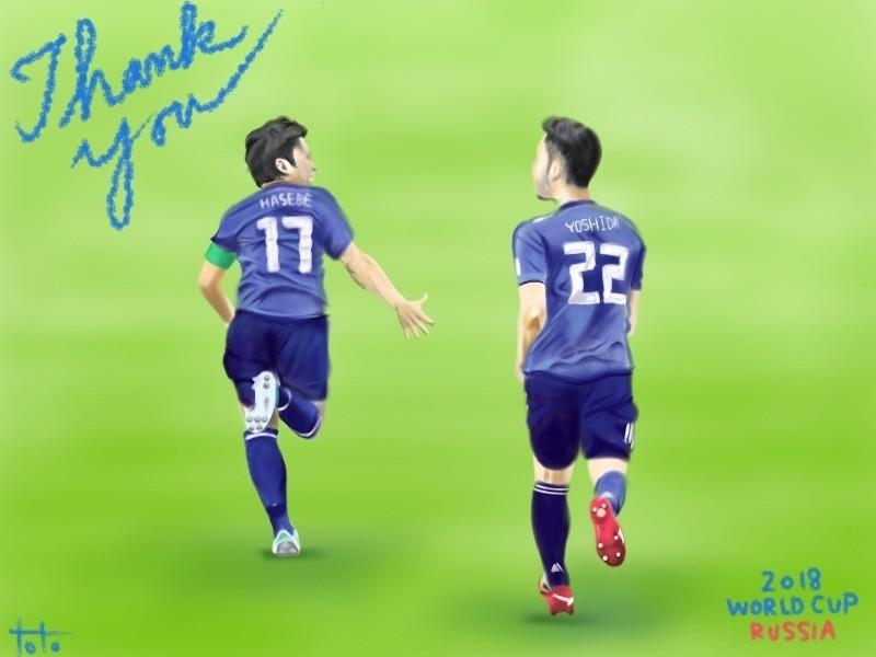 キャプテン、今までありがとう。そして、お疲れさまでした。麻也が麻也らしくこれからの日本代表を支えていってくれることを楽しみにしています。
