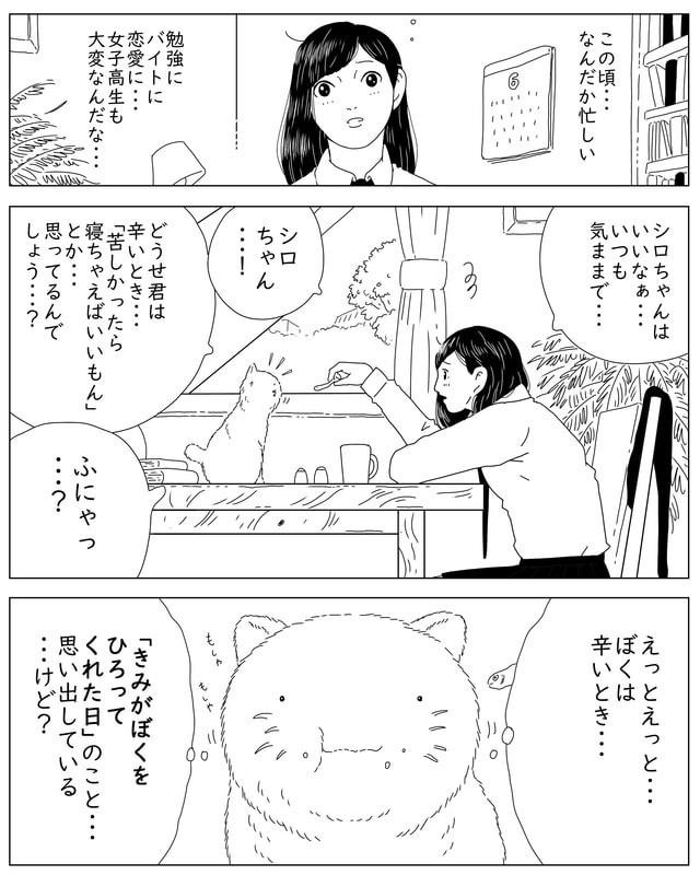 #イラスト #絵 #漫画 #マンガ #猫