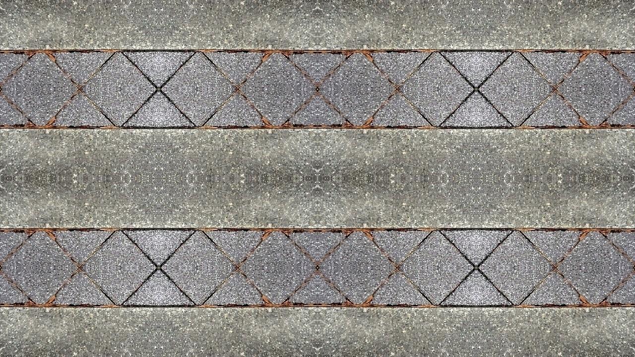 コンクリートとテラコッタ 背景素材 壁紙 Note