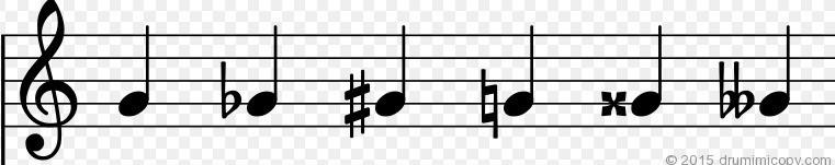 2)変化記号|barbaro76|note