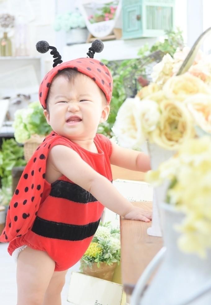 1歳バースデー撮影/楽しんでくれる笑顔が全力でとても可愛らしかったです!