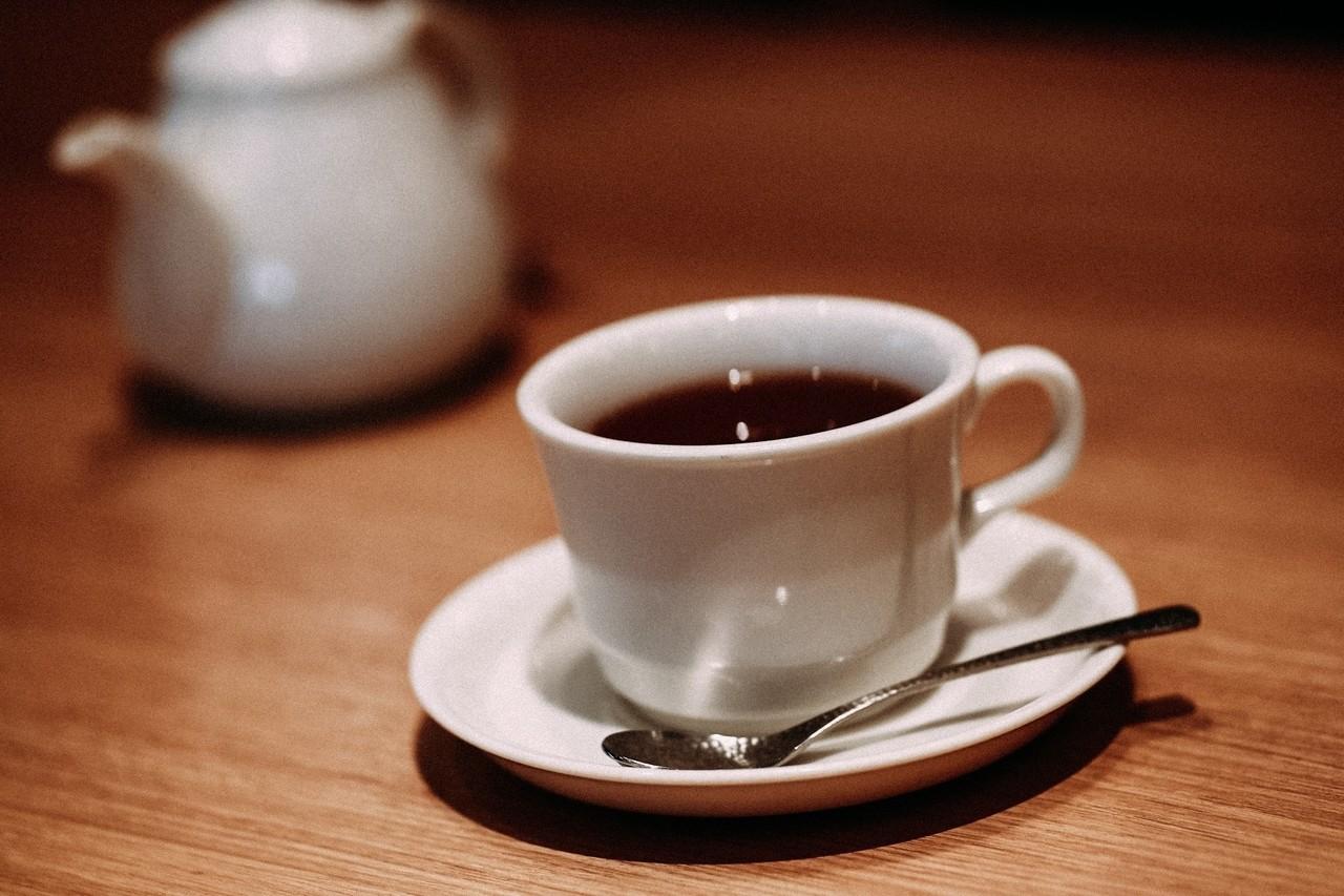 コーヒーに見えるけど紅茶 紅茶なのにblack tea