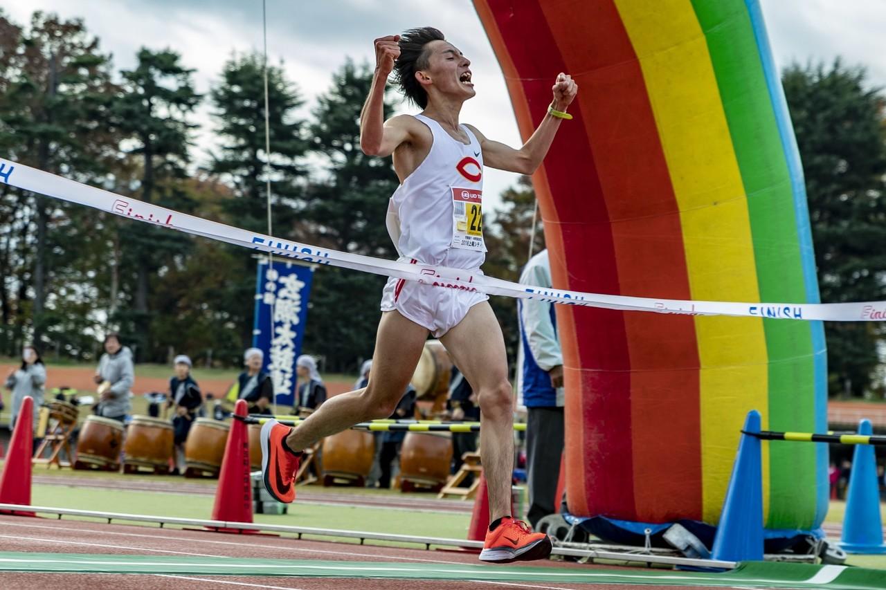 【2018上尾シティハーフマラソン】 🥈中山 顕 (中央大)1:01.32 (日本人トップ)NYC HALF出場へ