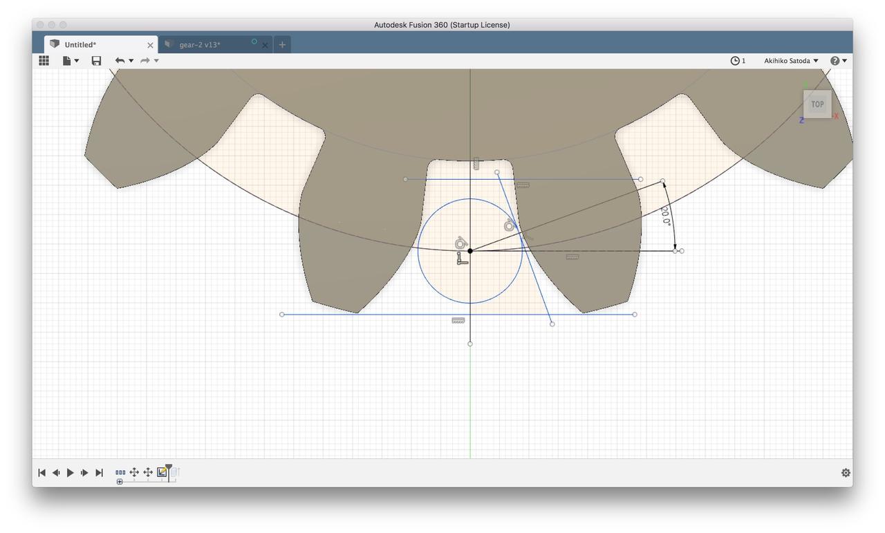 Fusion360でギアを作ってみる|Akihiko Satoda(satzz)|note