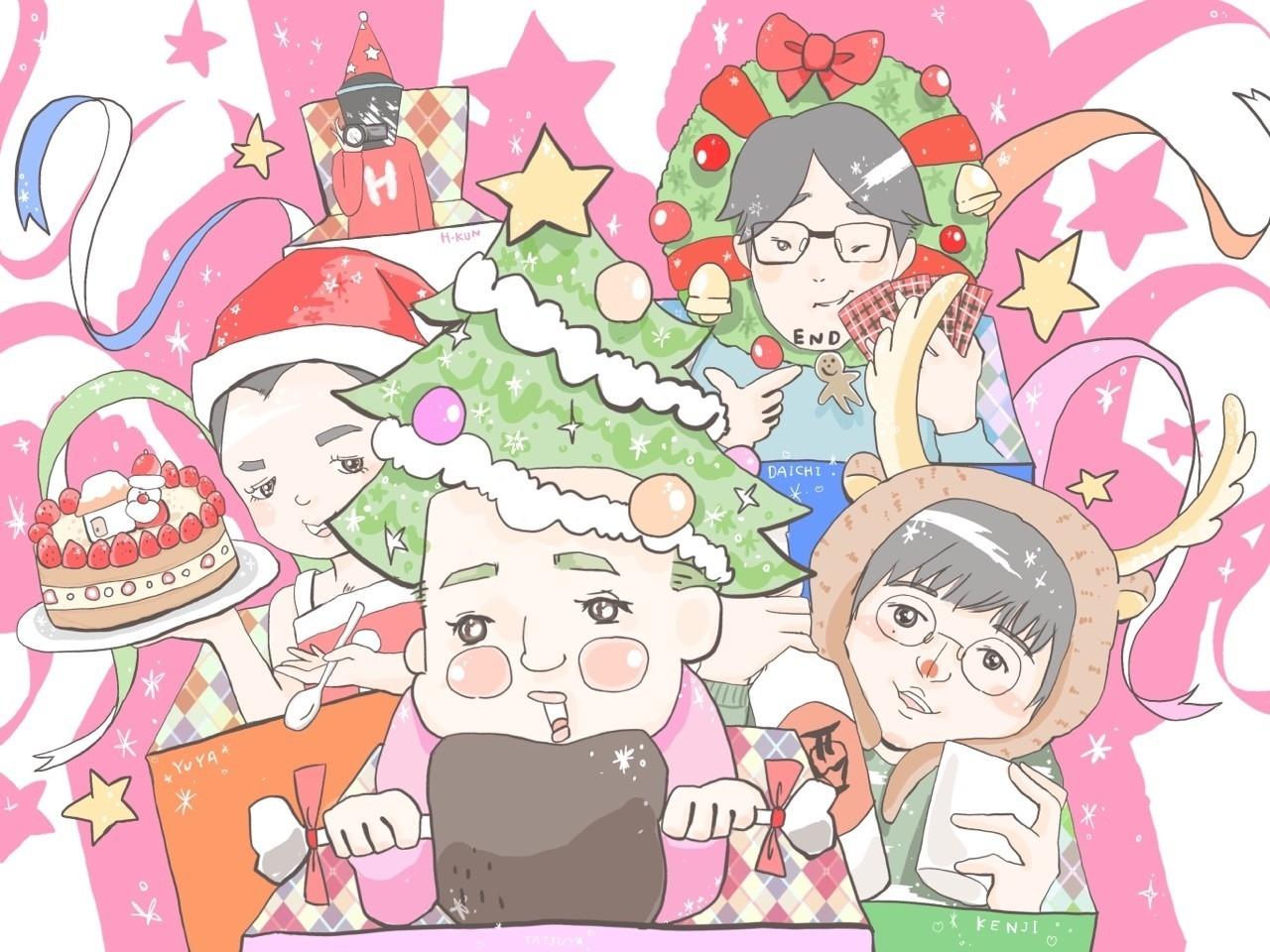 #劇団スカッシュ #クリスマス #YouTube #隙間男 #ファンアート #12月25日 #プレゼント