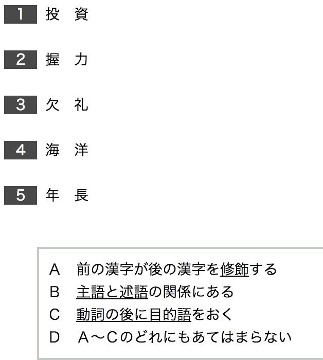 Spi 言語 実践 Vol6 語句整理 15問webテスト相談はweb担