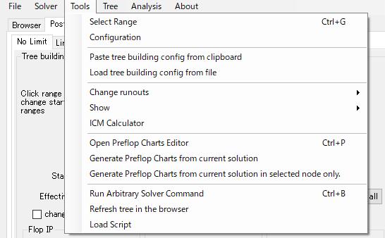 PioSOLVER、scripting:複数ツリーをまとめて計算するスクリプト