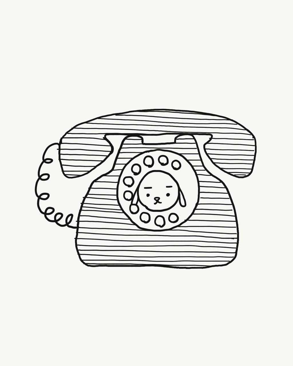 今日は何の日130 3分間電話の日ワンぞうのすばらしい日々