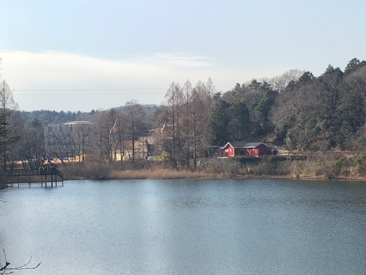 飯能・メッツァはやっぱりニッポンの湖畔だった