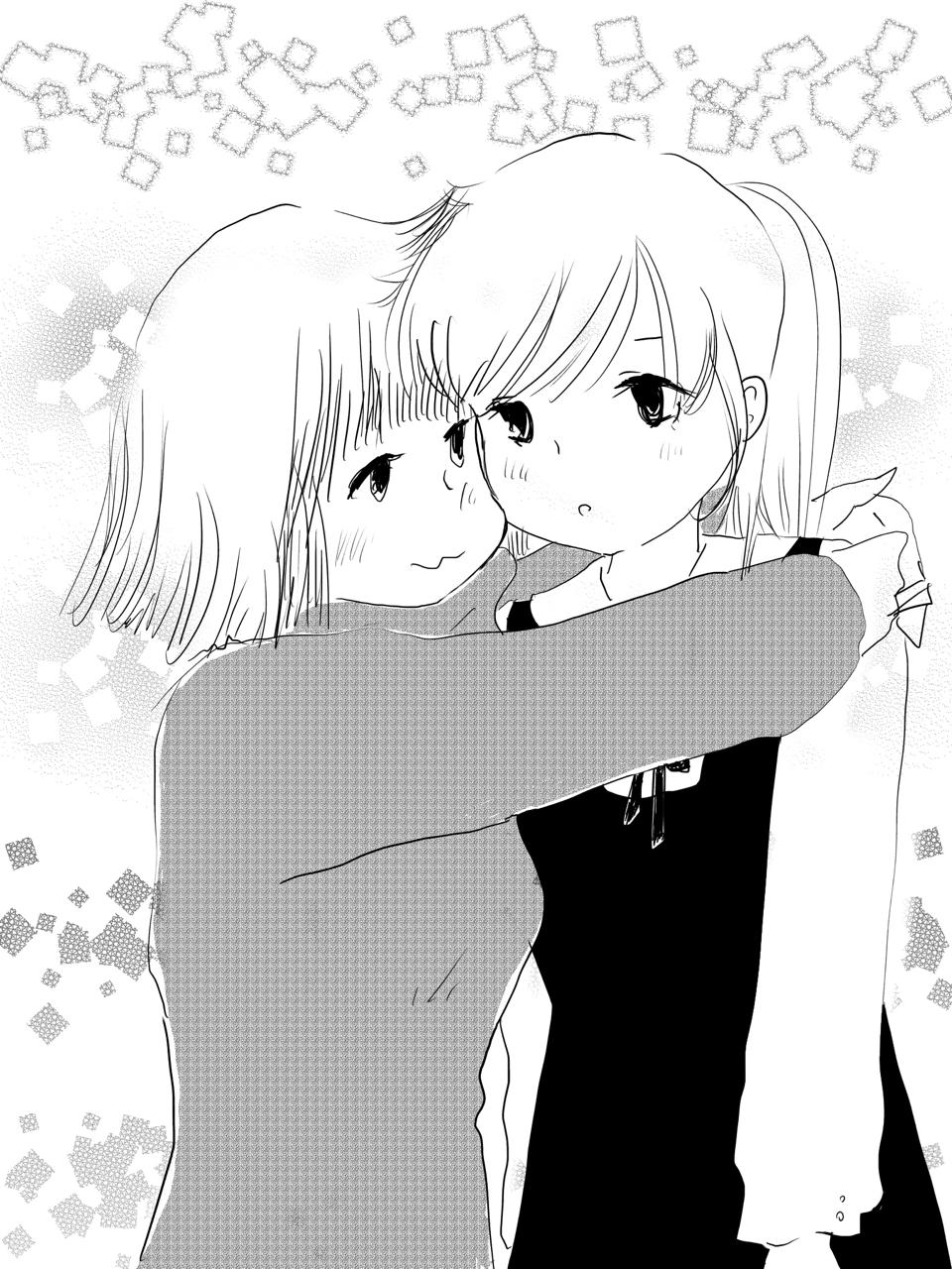 ハッピーバレンタインかねきょ漫画イラストnote