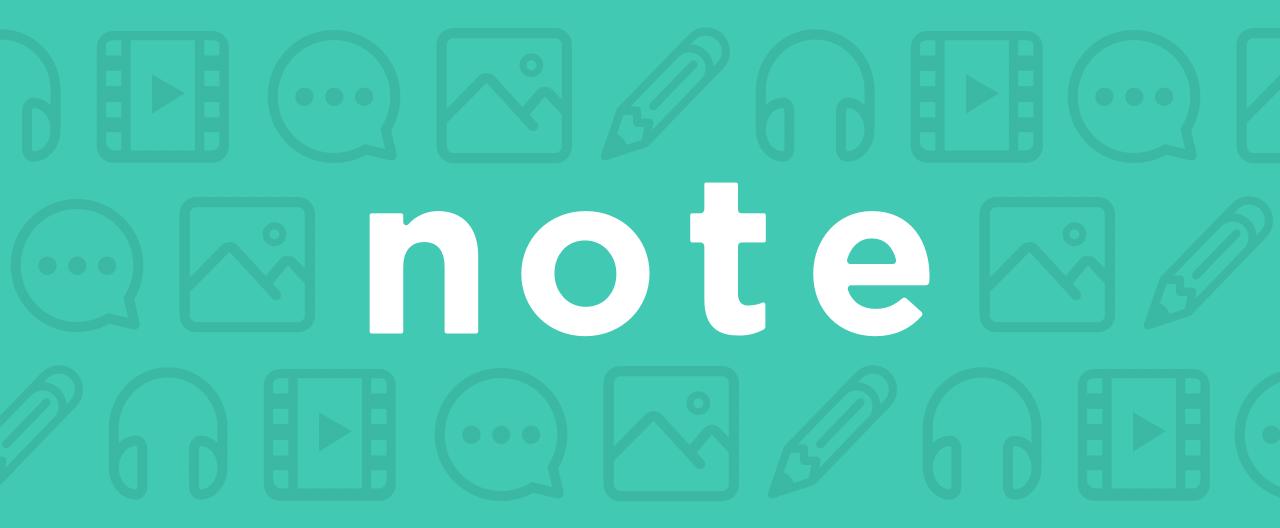 「note」の画像検索結果